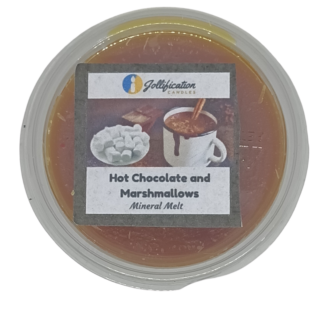 Hot Chocolate and Marshmallows Deli Pot
