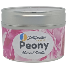 Load image into Gallery viewer, Peony Candle Tin