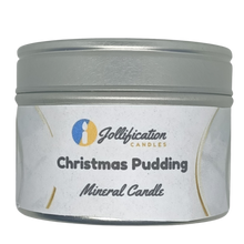 Load image into Gallery viewer, Christmas Pudding Candle Tin