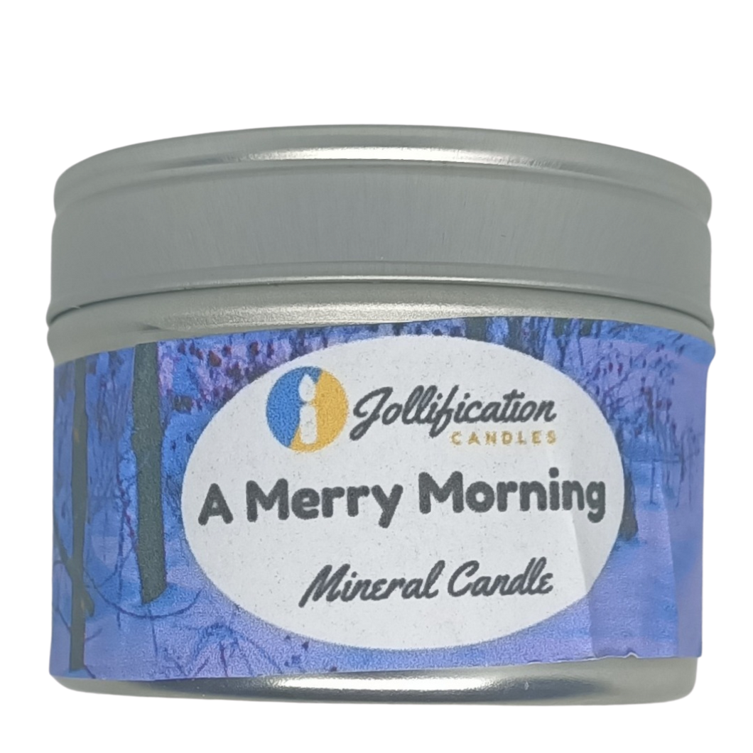 A Merry Morning Candle Tin