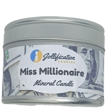 Load image into Gallery viewer, Miss Millionaire Candle Tin