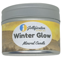 Load image into Gallery viewer, Winter Glow Candle Tin