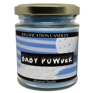 Baby Powder Candle Jar