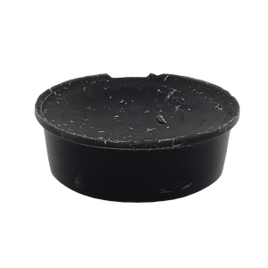 Black Leather Deli Pot