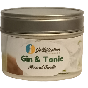 Gin and Tonic Candle Tin