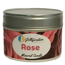 Load image into Gallery viewer, Rose Candle Tin