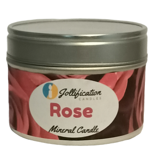Rose Candle Tin
