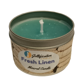 fresh Linen Candle Tin