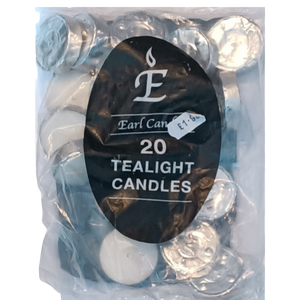 Tealights Pack 20