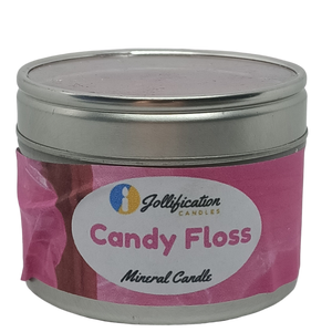 Candy Floss Candle Tin