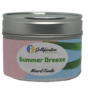 Summer Breeze Candle Tin