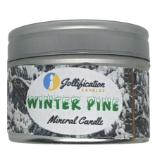 Load image into Gallery viewer, Winter Pine Candle Tin