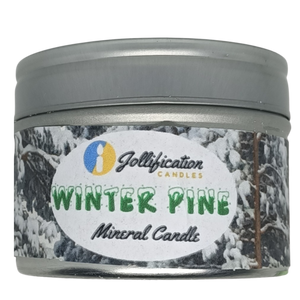 Winter Pine Candle Tin