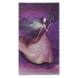 Purple Fairy Towel