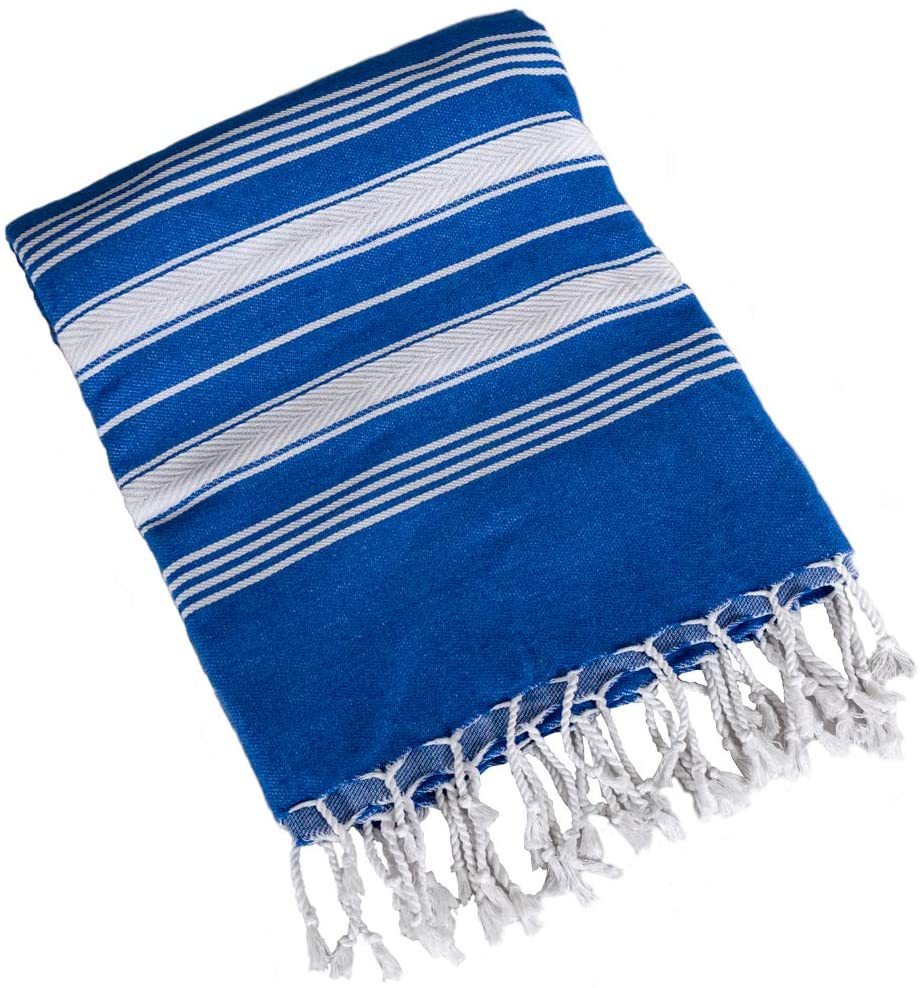 Beach Towel Peshtemal DarkBlue Color