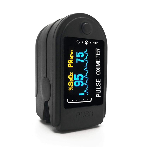 Finger Pulse Oximeter With Plethysmograph & Perfusion Index