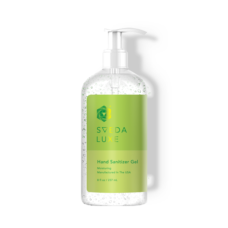 SVEDA LUXE - Hand Sanitizer Gel - 70% Alcohol