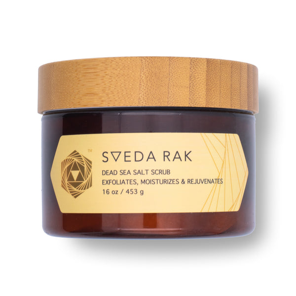SVEDA RAK - Dead Sea Salt Body Scrub