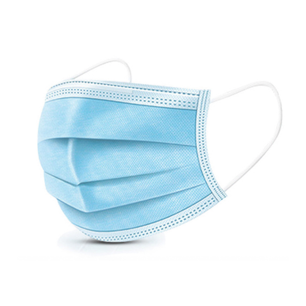 Disposable 3 Ply Daily protection Mask with Ear-loop