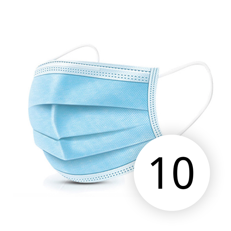 Disposable 3 Ply Daily protection Mask, Pack of 50