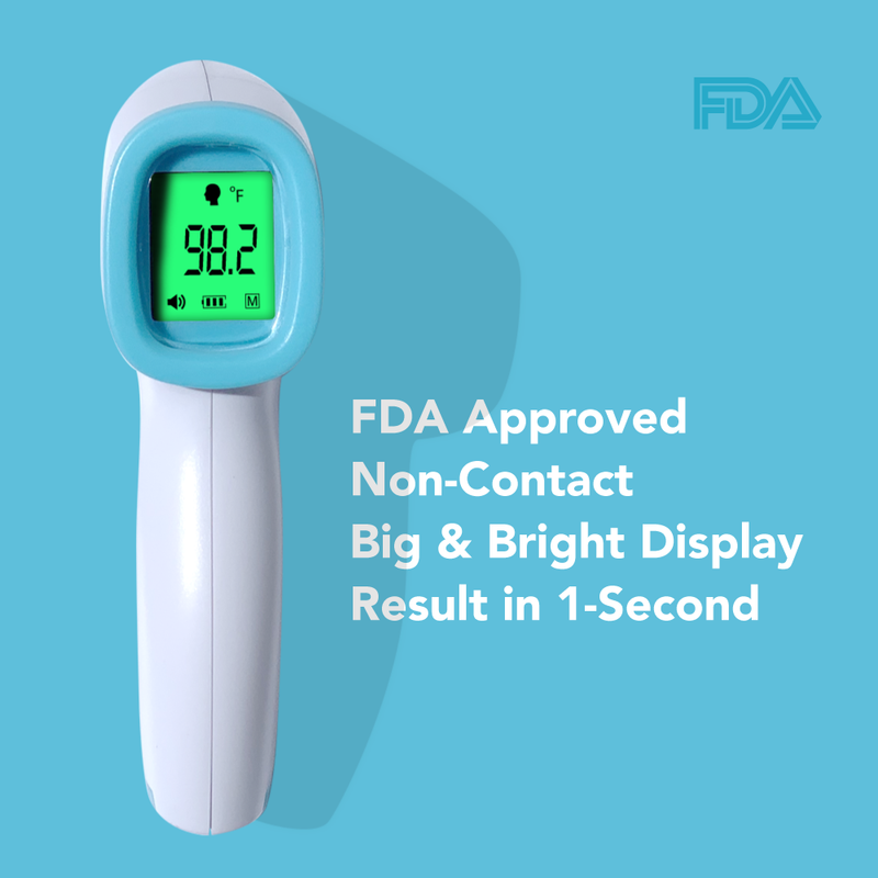 Infrared Forehead Temperature Thermometer