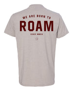 Born to ROAM Tee - <br> Silk - Back