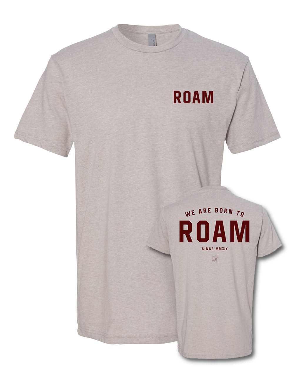 Born to ROAM Tee - <br> Silk - Both