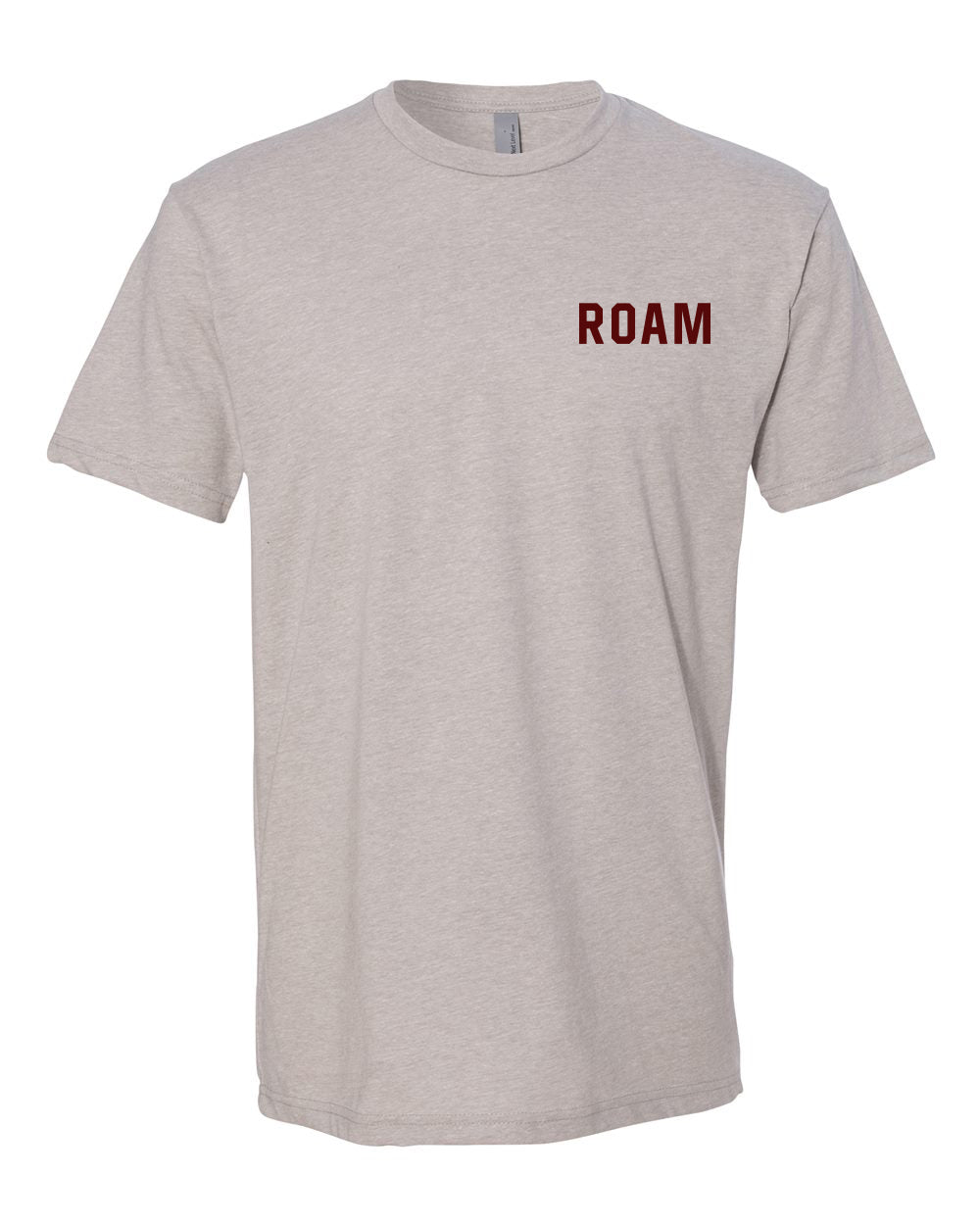 Born to ROAM Tee - <br> Silk - Front