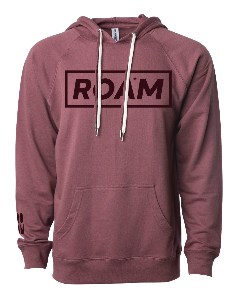Icon Loopback Boxed ROAM Terry Hoodie - <br> Port