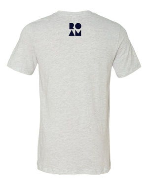 Mirrored Mountain Tee - <br> Ash_Back
