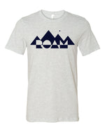 Mirrored Mountain Tee - <br> Ash_Front
