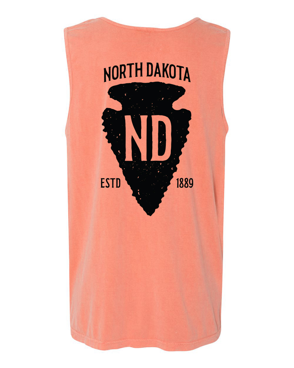 ND Arrowhead Heavyweight Tanks - Terracotta - Back