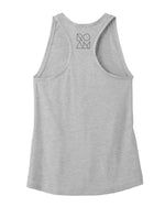 Women's Clean Star Tank - Heather Grey - Front