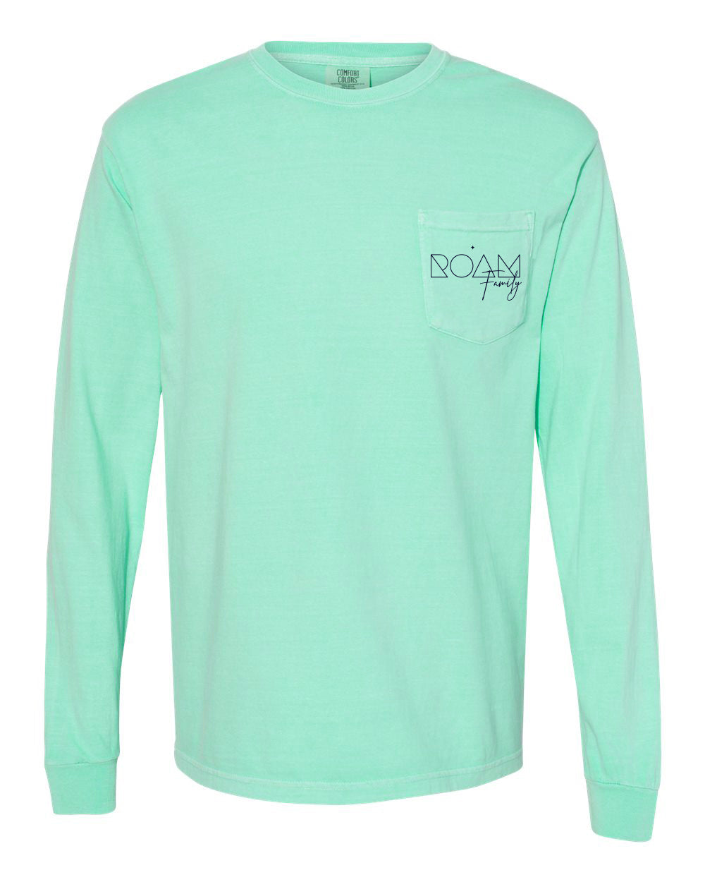 Family Pocket Long Sleeve - <br> Island Reef