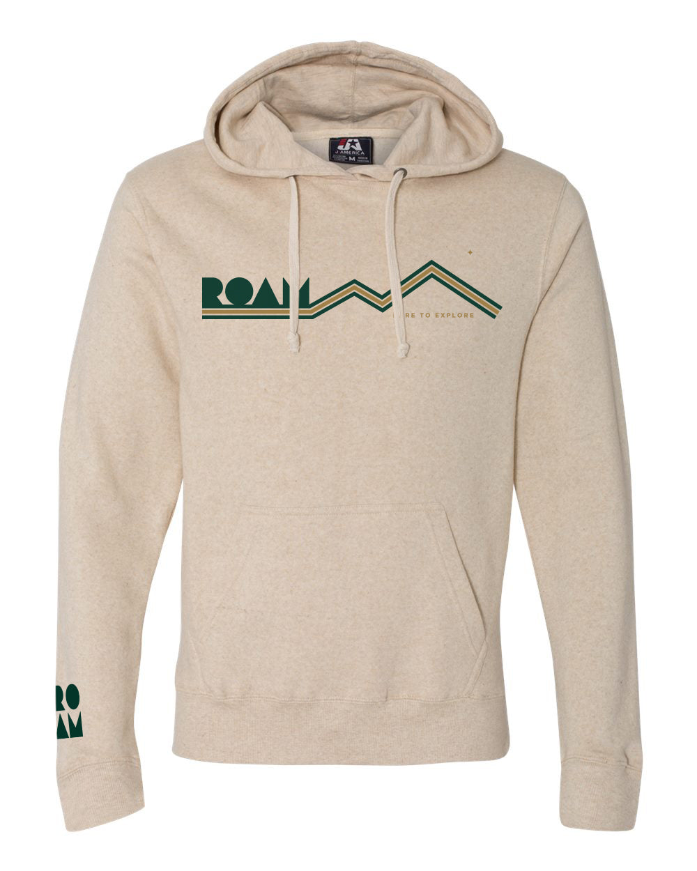 Mountainscape Triblend Hoodie - <br> Oatmeal