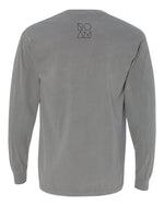 Bison Pocket Long Sleeve - Grey - Back