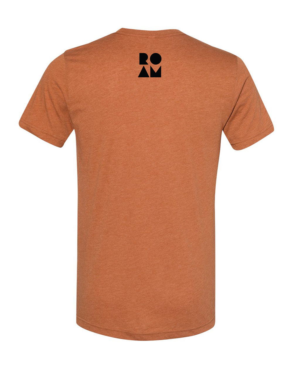 Roam Flag Tee - Heather Autumn - Back