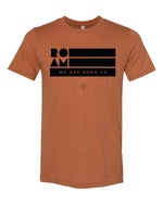 Roam Flag Tee - Heather Autumn - Front