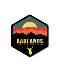"3"" Badlands Sticker"