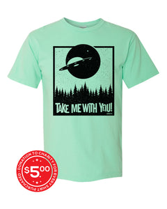 Take Me Tee - Island Reef - Front - Donate 5