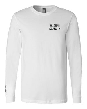 Bis-Man Topo Long Sleeve - White - Front