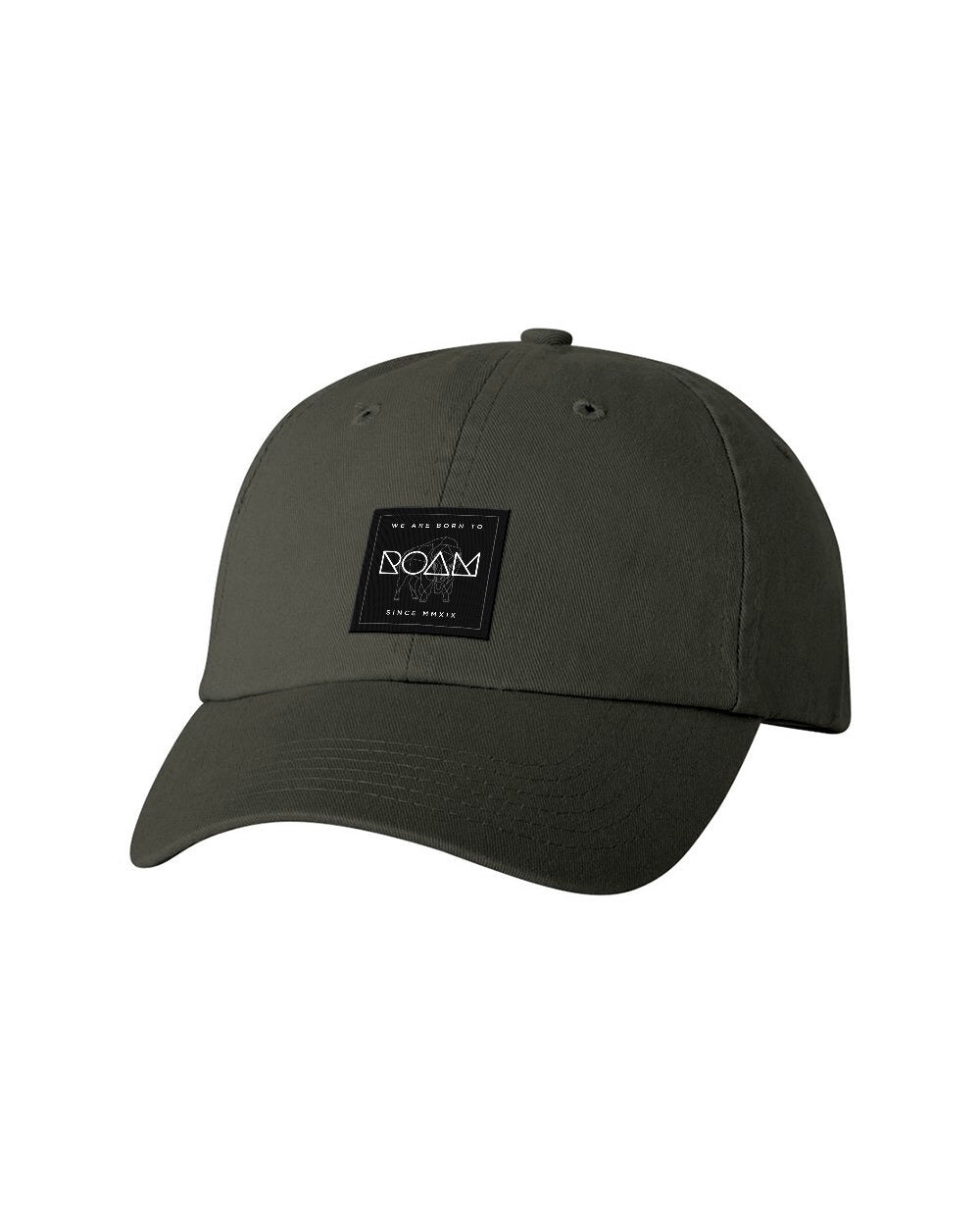 Mosaic Overlay Patch Dad Cap - <br> Olive