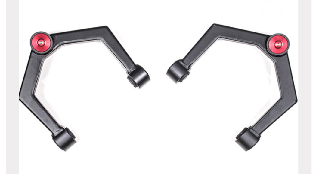 zone upper control arms titan xd