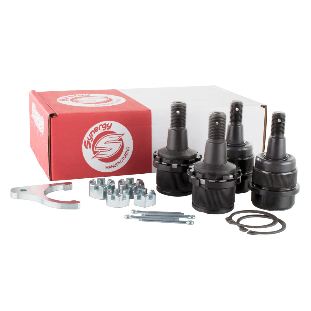 Synergy MFG Adjustable Knurled Ball Joint Kit