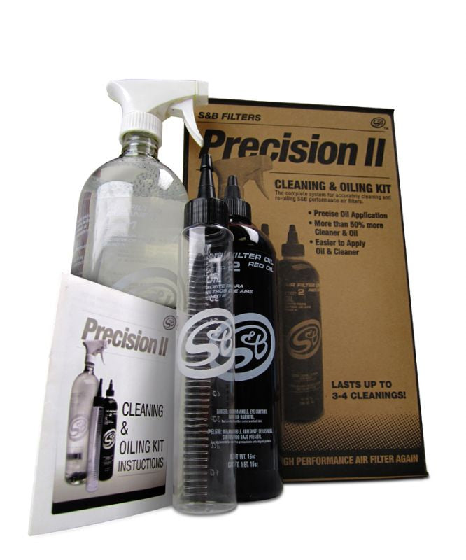 S&B PRECISION CLEANING & OILING KIT BLUE COLORED OIL