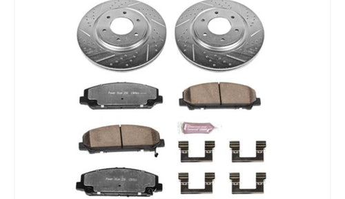 Power Stop Z36 Front Brake Pads & Rotor Kit