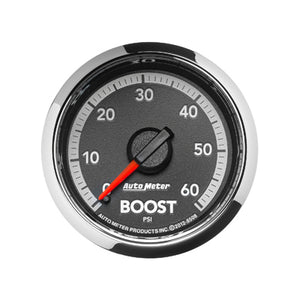 Auto Meter Factory Matched Boost Gauge 0-60psi