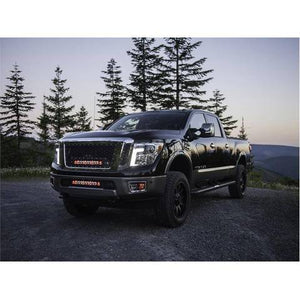 16+ titan xd rigid fog light kit