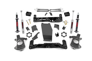 5IN GM SUSPENSION LIFT | KNUCKLE KIT W LIFTED STRUTS (14-18 1500 PU 4WD)