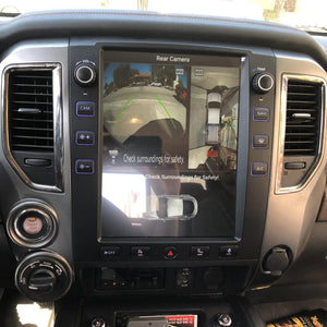 "12.1"" Android 8.1 Six-core Vertical Screen Navigation Radio for Nissan Titan 2016 - 2019"